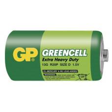 GP 13G Greencell baterie R20 1,5V (D velké mono) 1ks