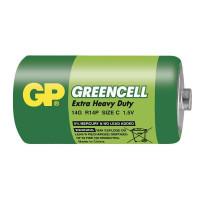GP 14G Greencell baterie R14 1,5V (C malé mono) 1ks