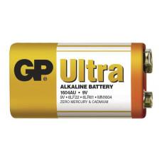 GP 1604AU Ultra alkalická baterie 9V, 6LF22 1ks