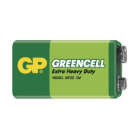 GP 1604G Greencell baterie 9V (6F22) 1ks