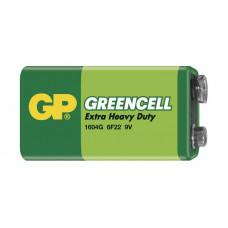 GP 1604G Greencell baterie 9V (6F22) 1ks