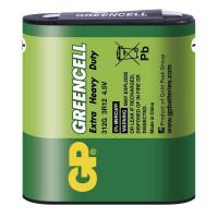 GP 312G Greencell plochá baterie 3R12 4,5V 1ks