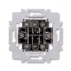 ABB 3558-A52340 přístroj přepínače střídavého dvojitého, řazení 6+6
