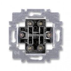 ABB 3558-A87340 přístroj ovládače zapínacího dvojitého, řazení 1/0+1/0