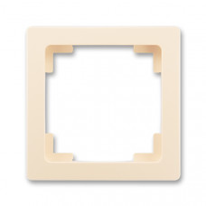 ABB Swing L 3901J-A00010 C1 rámeček jednonásobný, krémový