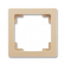 ABB Swing L 3901J-A00010 C3 rámeček jednonásobný, mocca