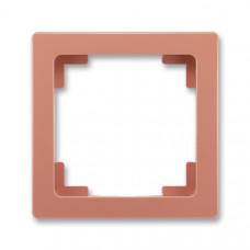 ABB Swing L 3901J-A00010 R3 rámeček jednonásobný, cihlový