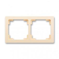 ABB Swing L 3901J-A00020 C1 rámeček dvojnásobný, krémový