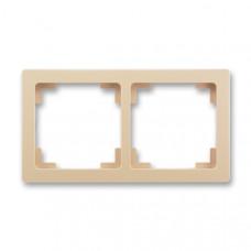 ABB Swing L 3901J-A00020 C3 rámeček dvojnásobný, mocca
