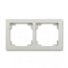 ABB Swing L 3901J-A00020 S1 rámeček dvojnásobný, světle šedý