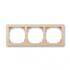 ABB Swing L 3901J-A00030 C3 rámeček trojnásobný, mocca