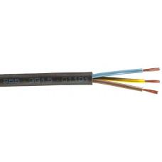 H03VV-F 3G0,5 (CYLY 3Cx0,5) flexibilní kabel, černý