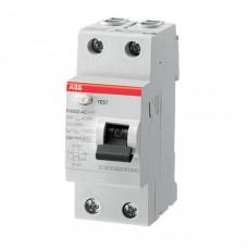 ABB FH202 AC-25/0,03 dvoupólový proudový chránič 25A 30mA HOME /2CSF202002R1250/