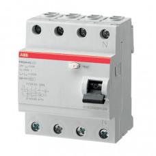 ABB FH204 AC-25/0,03 čtyřpólový proudový chránič 25A 30mA HOME /2CSF204002R1250/