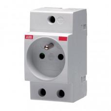 ABB M1174 modulární zásuvka na lištu DIN /2CSM110000R0711/