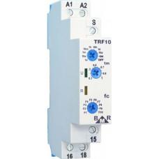 BMR TRF10 časové multifunkční relé, 10 funkcí, 12-240VAC