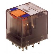 Schrack PT570012 univerzální paticové relé 12VDC, 6A, 4 kontakty