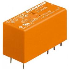 Schrack RT424012 výkonové relé, 12VDC, 8A, 2 kontakty