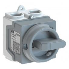 ABB ONE20M3G odpínač v krytu IP67 20A 3P šedý /1SCA135535R1001/