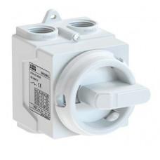 ABB ONE20M3W odpínač v krytu IP67 20A 3P bílý /1SCA138457R1001/