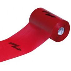 Anticor 611 MT červená páska s bleskem 100m (výstražná fólie do výkopu)