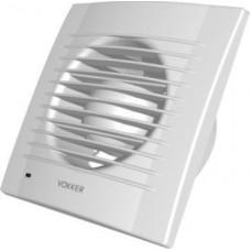VOKKER 100/TC domovní ventilátor s časovým spínačem a zpětnou klapkou